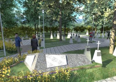 Предложение по организации территории Текутьевского кладбища