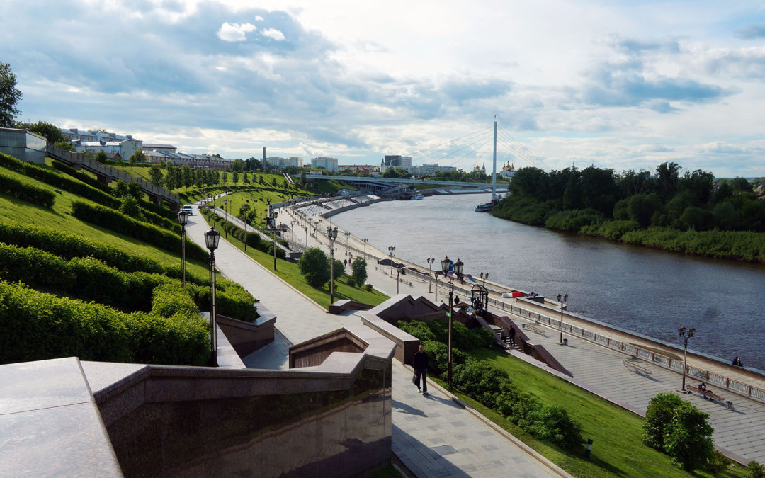 Набережная реки Туры