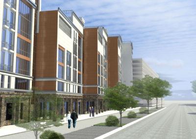 Общественно-жилой комплекс в составе квартала жилых домов элитного класса