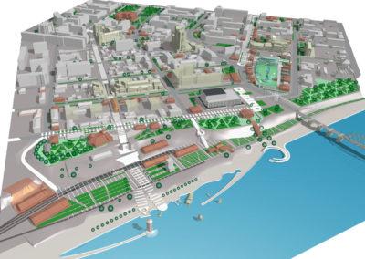 Концептуальное предложение использования территорий «Заповедная зона», «Причал Императора» и набережной р. Тура