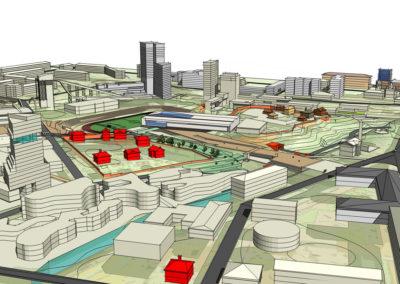 Градостроительная концепция общегородского культурного и рекреационного центра