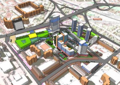 Градостроительная концепция развития территории