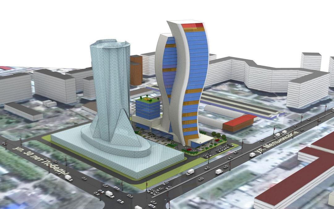 Градостроительная концепция делового центра